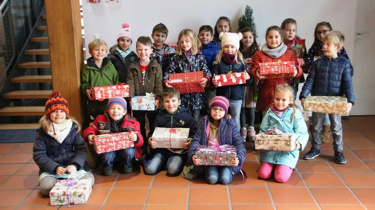 Gemeinschaftsschule Deizisau | Weihnachtspäckchen für Kinder in Not